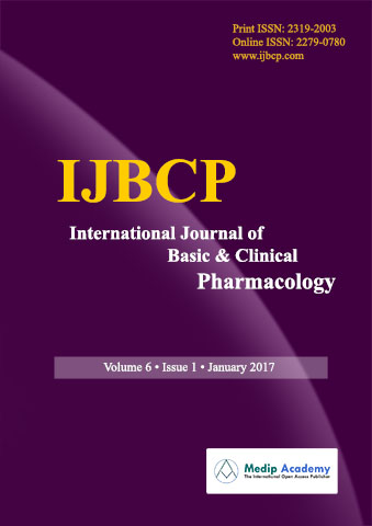 International Journal of Basic & Clinical Pharmacology